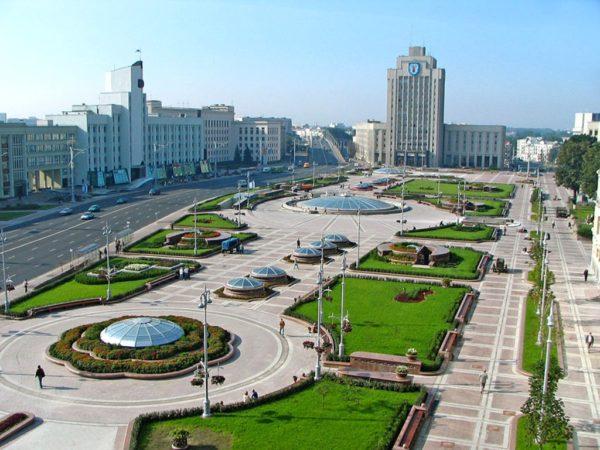 Экскурсии по городу Минску